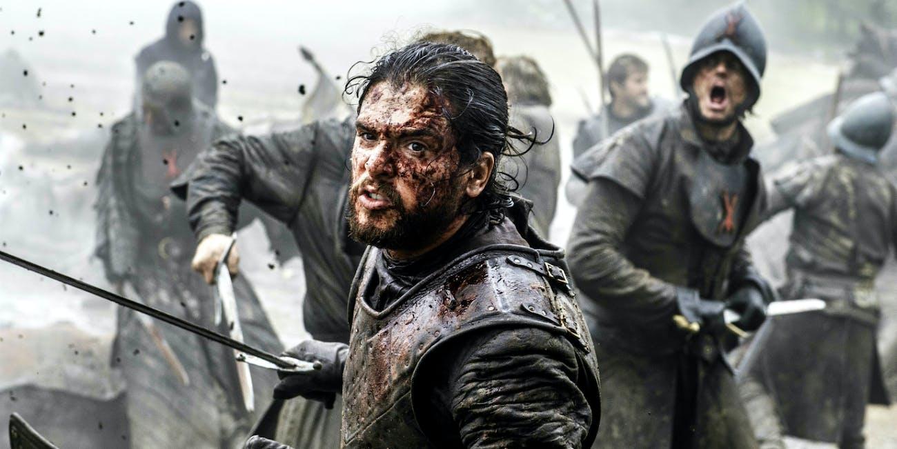Jon Snow in 'Game of Thrones'.