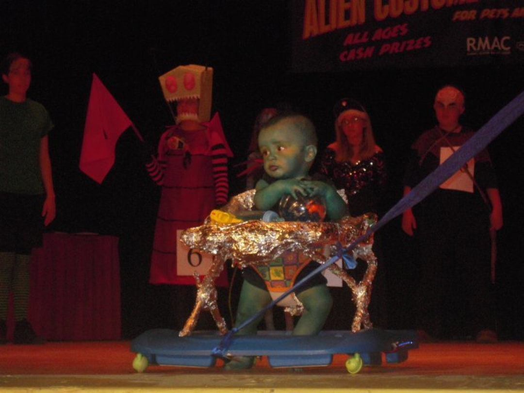 Blue Baby was robbed. Also, note Invader Zim in the background.