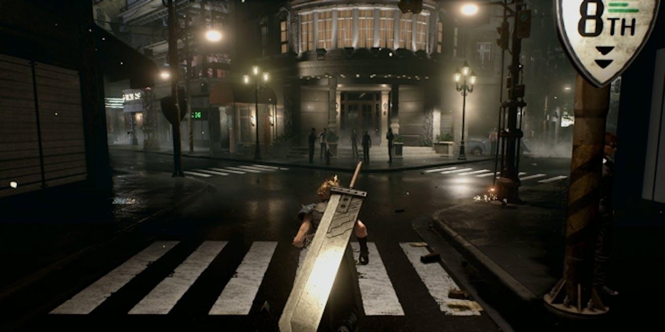 Cloud Final Fantasy 7 Remake PAX West