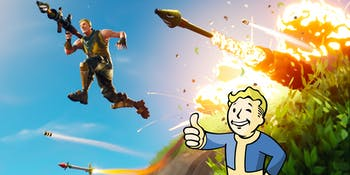 Fortnite Fallout mash-up