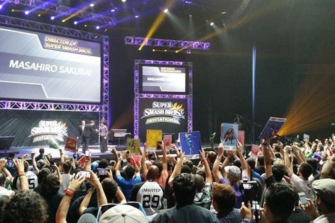 A 'Super Smash Bros. Wii U' tournament