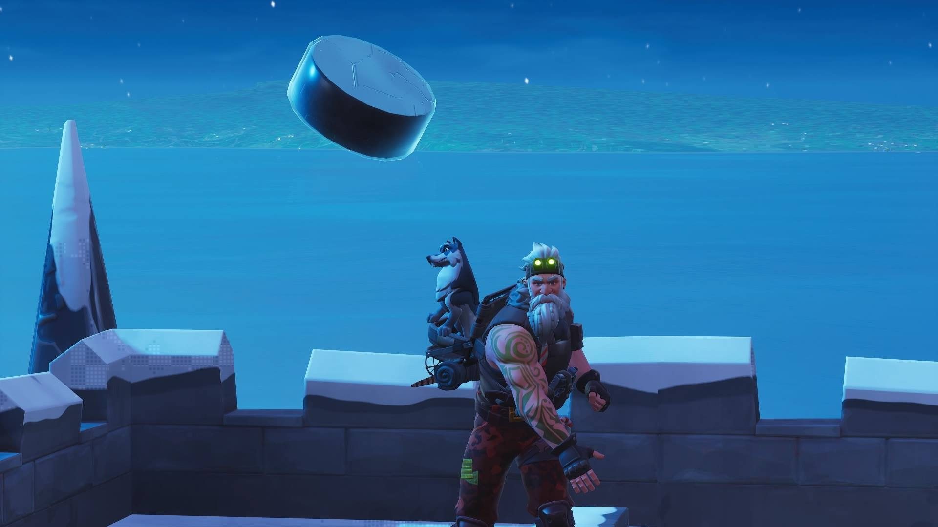 Fortnite' Ice Puck: Here's Where to Slide One 150m in a