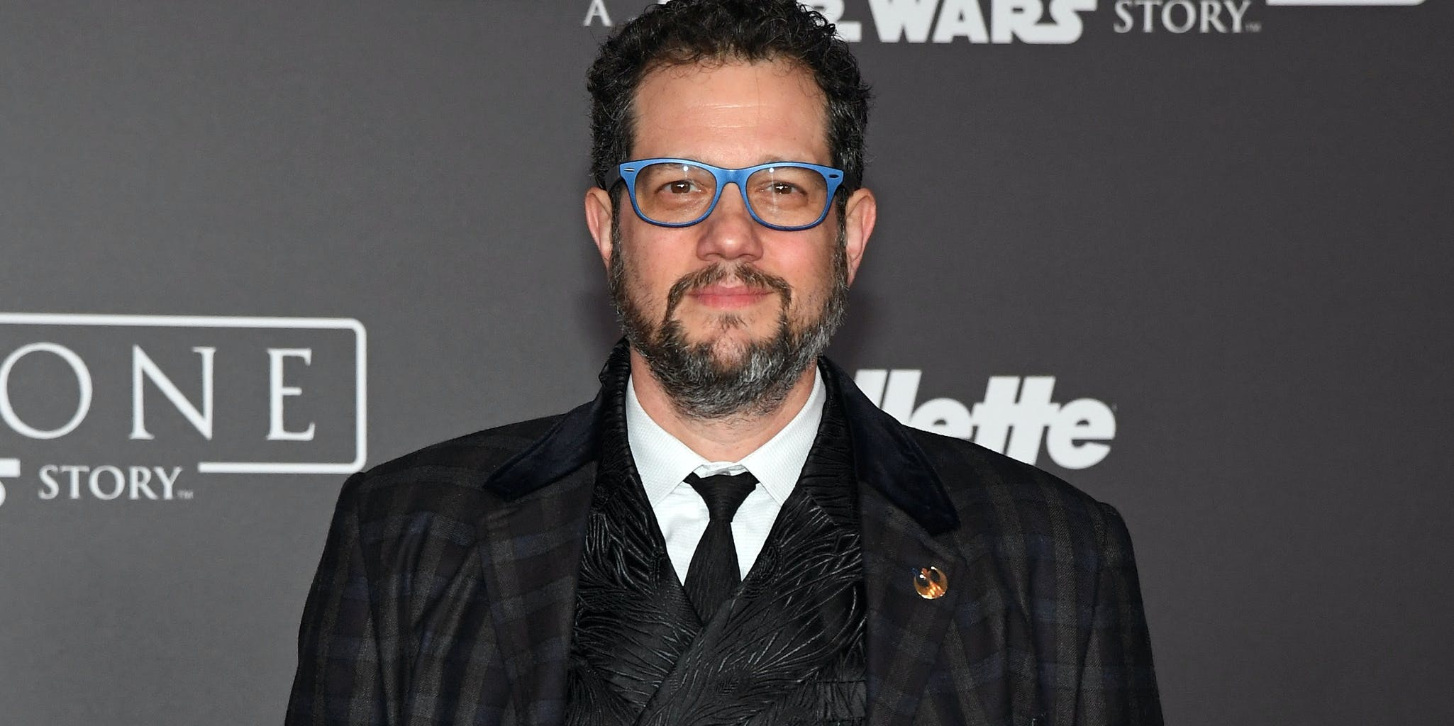 HOLLYWOOD, CA - DECEMBER 10:  Composer Michael Giacchino attends the premiere of Walt Disney Pictures and Lucasfilm's 'Rogue One: A Star Wars Story' at the Pantages Theatre on December 10, 2016 in Hollywood, California.  (Photo by Ethan Miller/Getty Images)