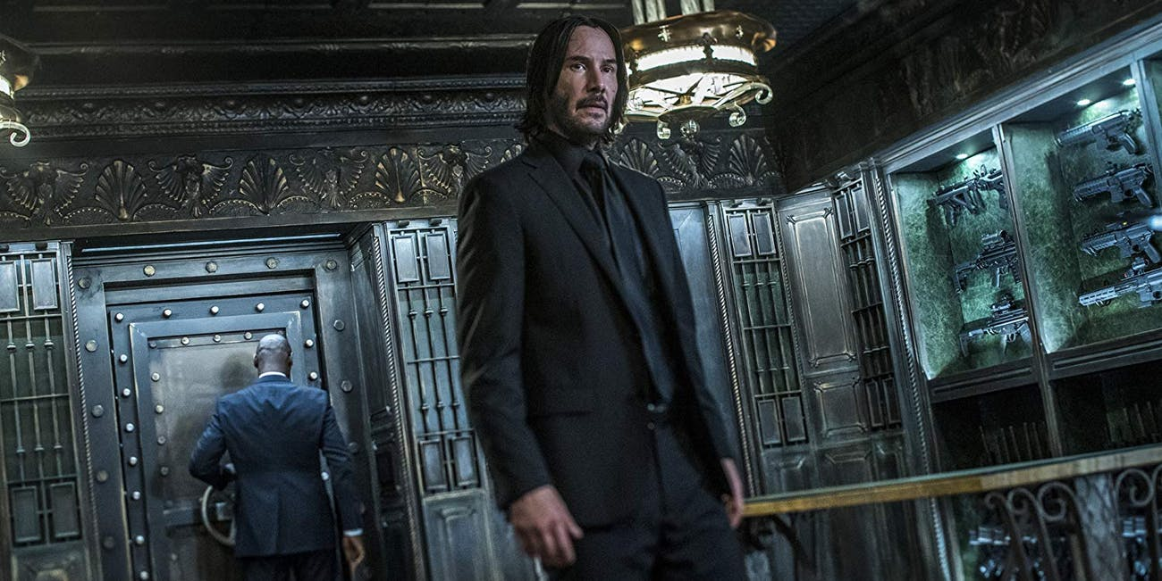 Still of Keanu Reeves as John Wick in John Wick Chapter 3 - Parabellum