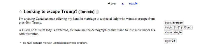 The White Knights of Canada are on it.