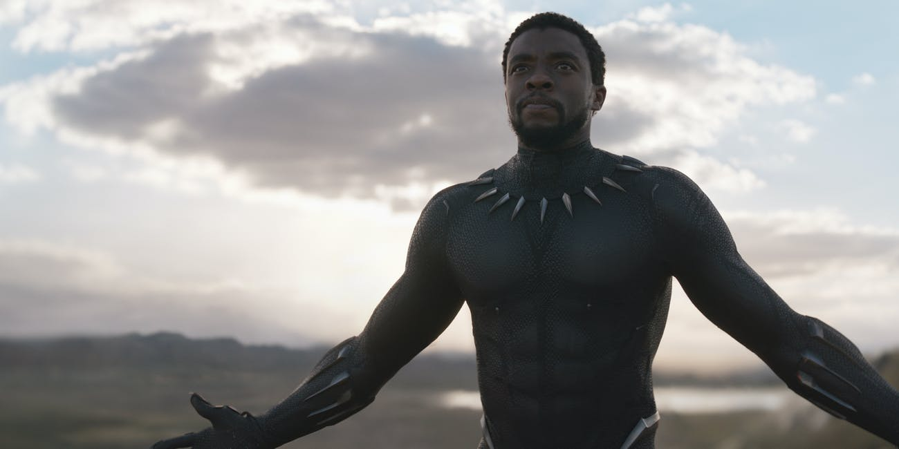 Black Panther Chadwick Boseman Marvel