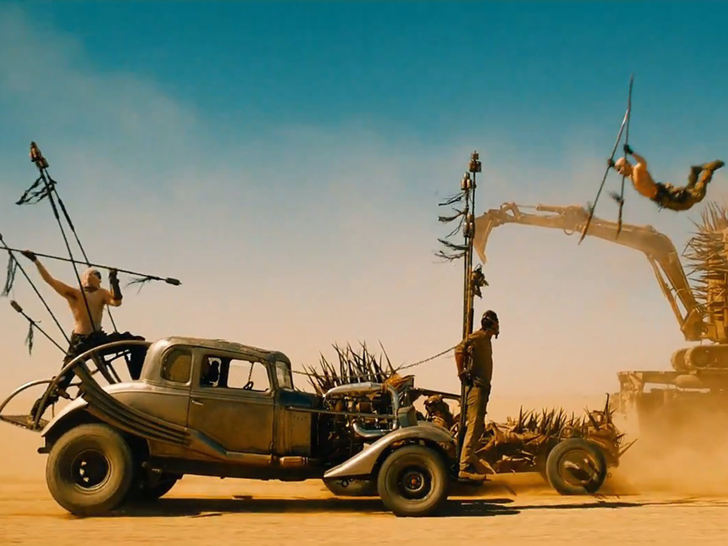 Behind the Scenes from Mad Max Fury Road