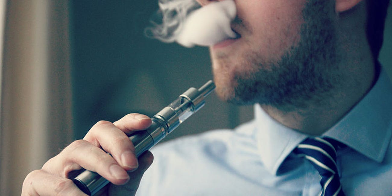 Vaping and Cigarette Smoking Could Be Equally Likely to Cause Lung Disease
