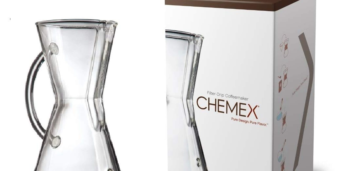 Chemex Glass Handle, Pour-over Coffeemaker