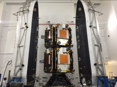 Satellite Cargo Is Loaded for SpaceX's First Launch Since Explosion