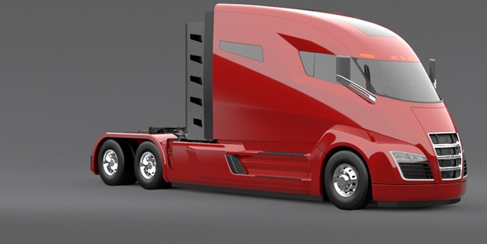 Elon Musk says autonomous tesla truck drivers will be fleet managers.
