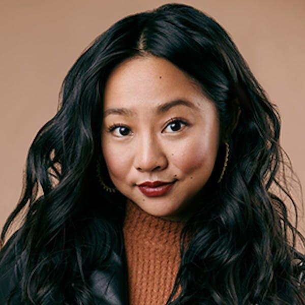Stephanie Hsu is Christine Canigula in 'Be More Chill'.