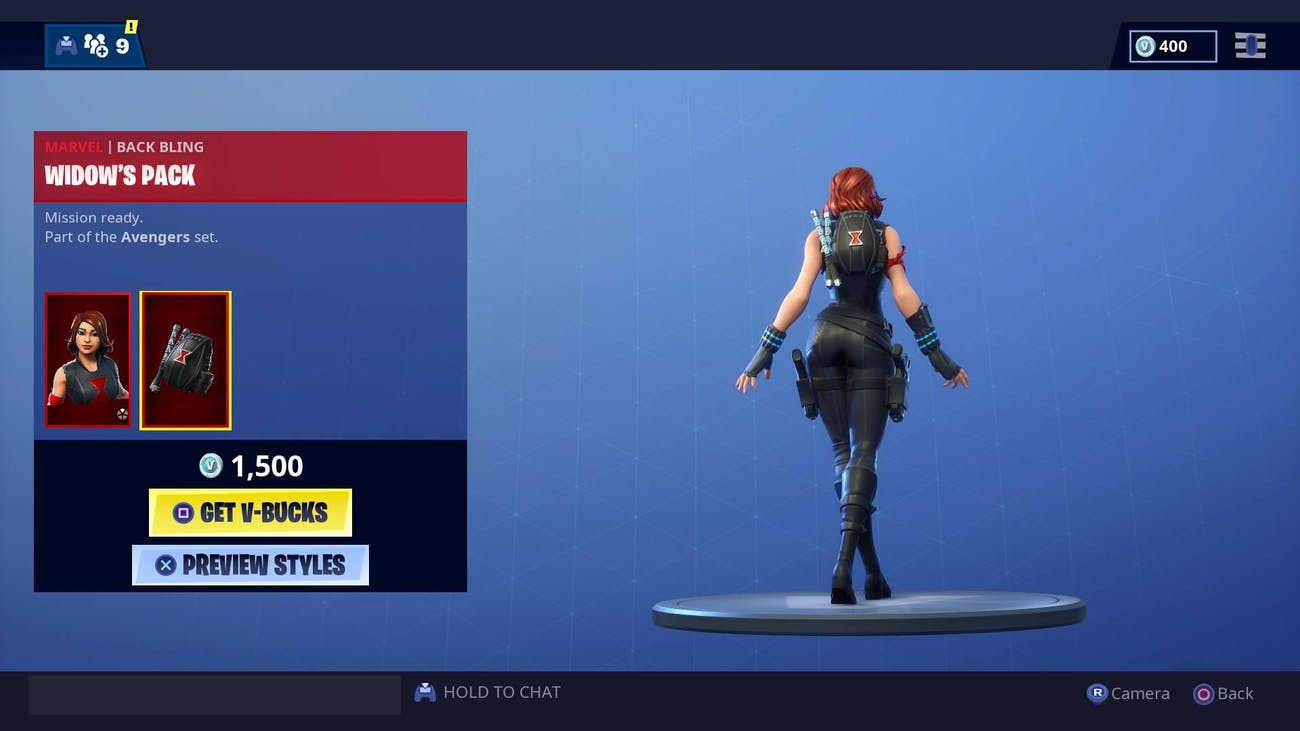 Fortnite Black Widow Skin Emote May Lead To Even More