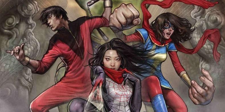 Marvel Hulk Silk Shang-Chi