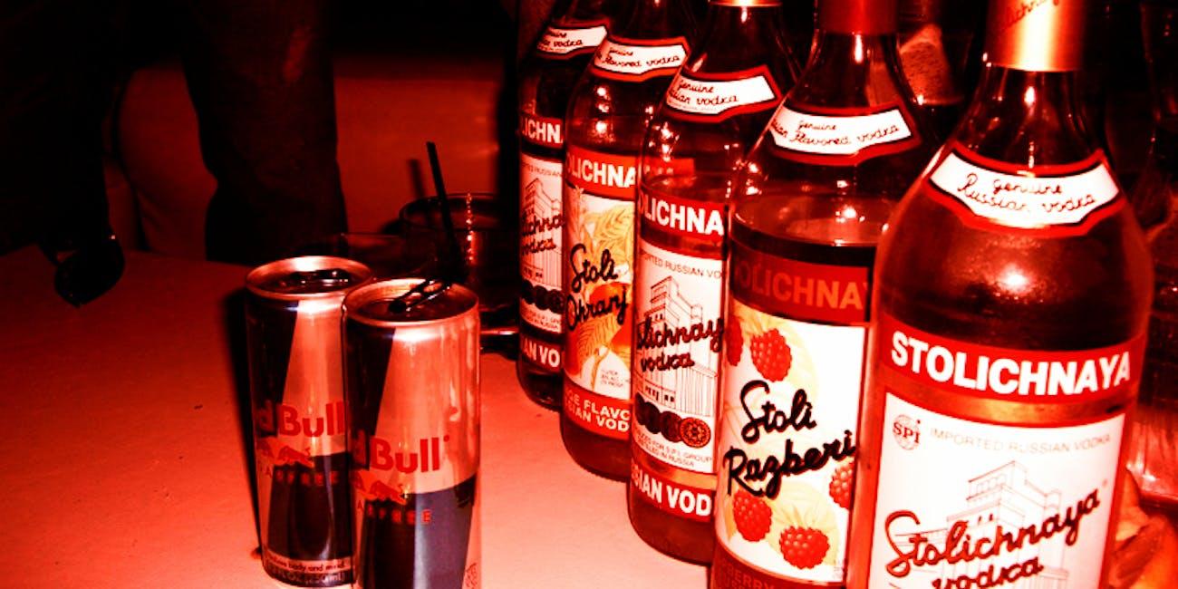 Vodka Red Bull