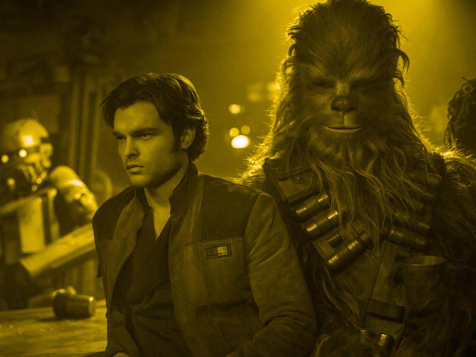 Alden Ehrenreich in 'Solo:A Star Wars Story'