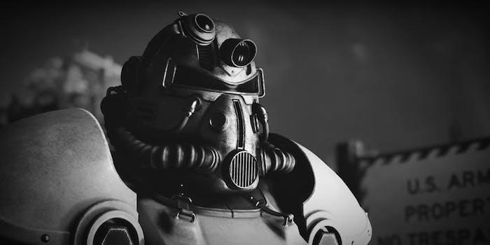 Fallout 76 power armor guy