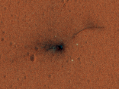 This Is What a Crash-Landing on Mars Looks Like