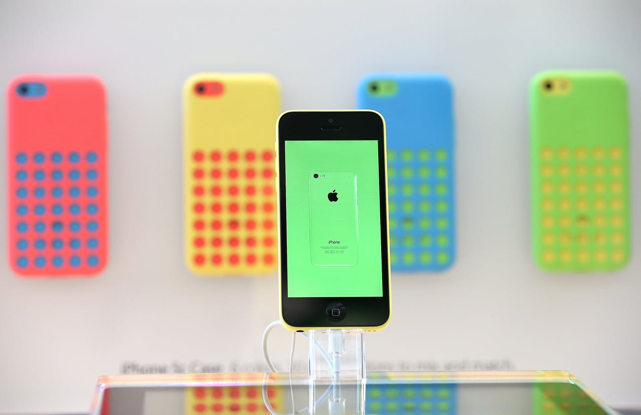 The Apple iPhone 5C