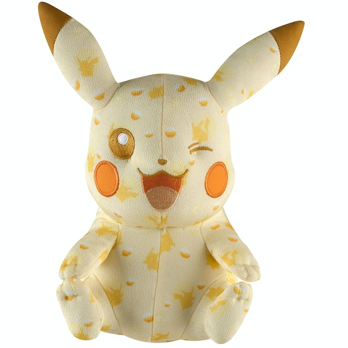 Mythical Pokémon aren't the only ones to get the TOMY plush treatment.