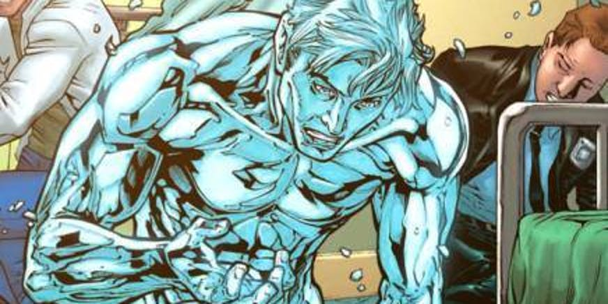 New Iceman Marvel Comics book part of Resurrxion