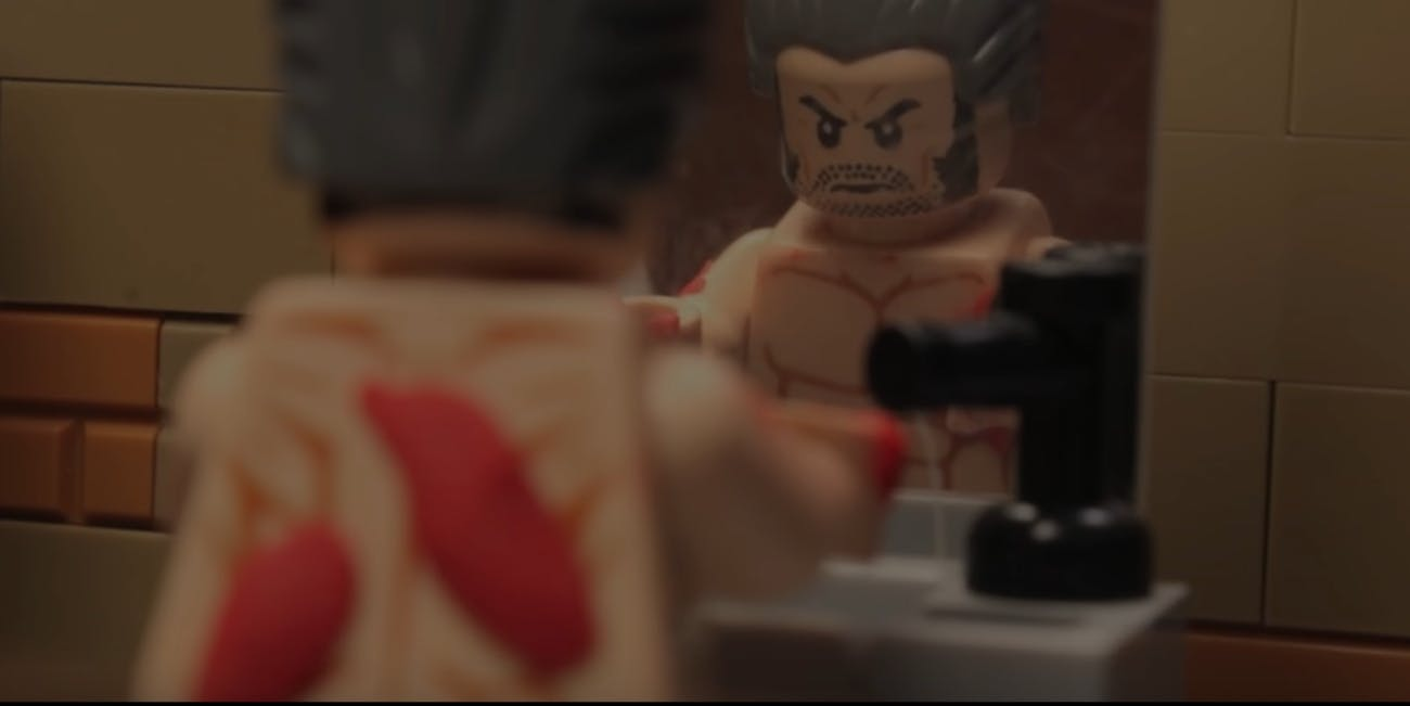fanmade Logan trailer made in Legos for YouTube