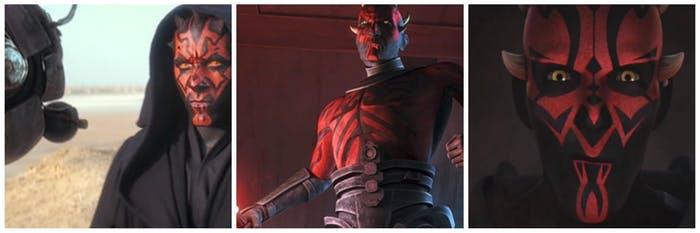 Maul over the years
