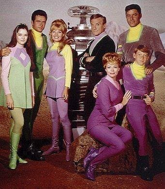 'Lost in Space' cast