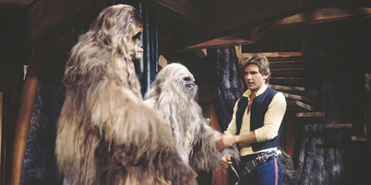 Thankfully, this new Wookie doesn't look like these in 'Solo'.