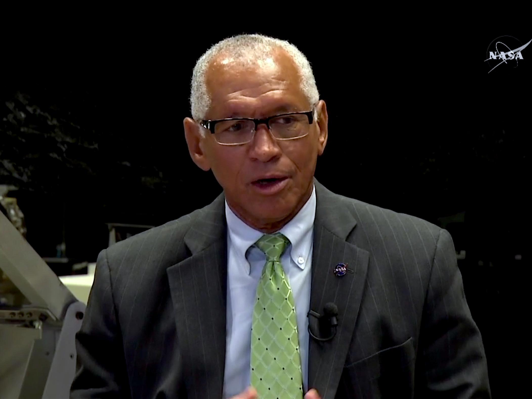 NASA Administrator Charles Bolden, speaking on Wednesday.