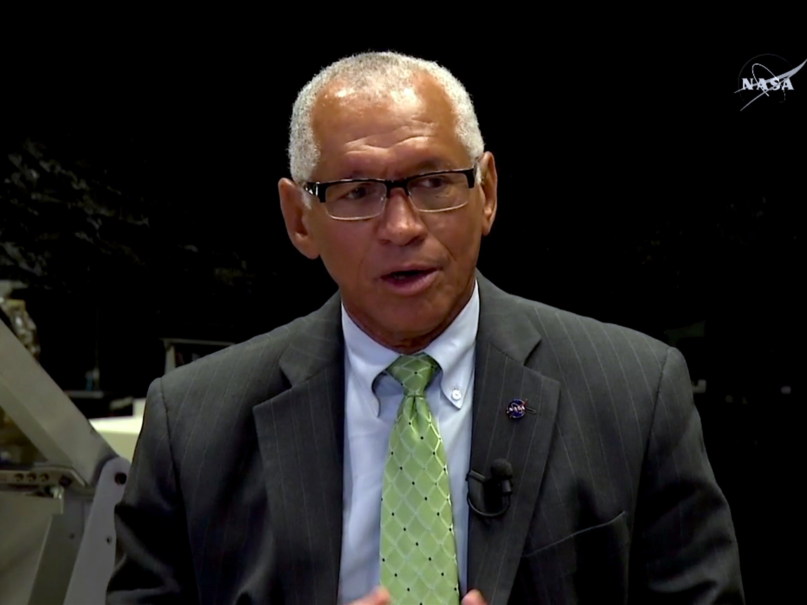 NASA Administrator Charles Bolden, speaking on Wednesday.