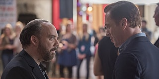 In 'Billions' Episode 8, Paul Giamatti Hates On Salad and Plays the Bully