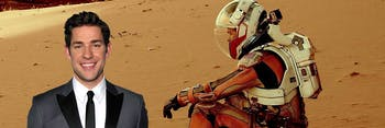 John Krasinski is going to Mars for his next sci-fi project called 'Life on Mars'.