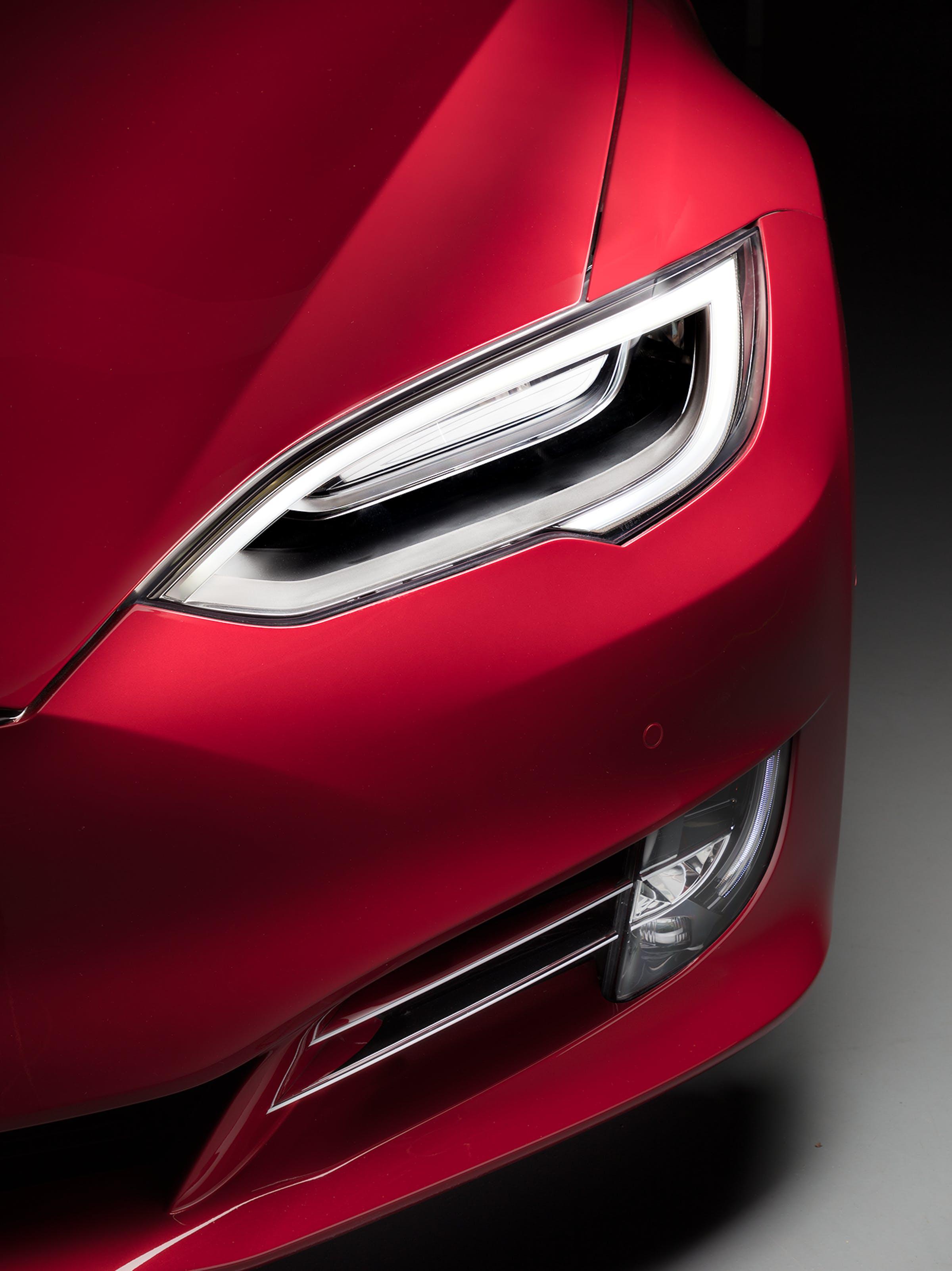 Tesla Model S headlight