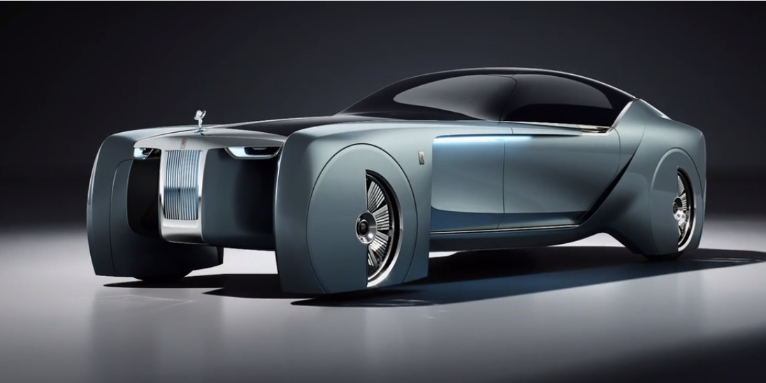 See Rolls Royce S Slightly Ridiculous 103ex Concept Car In