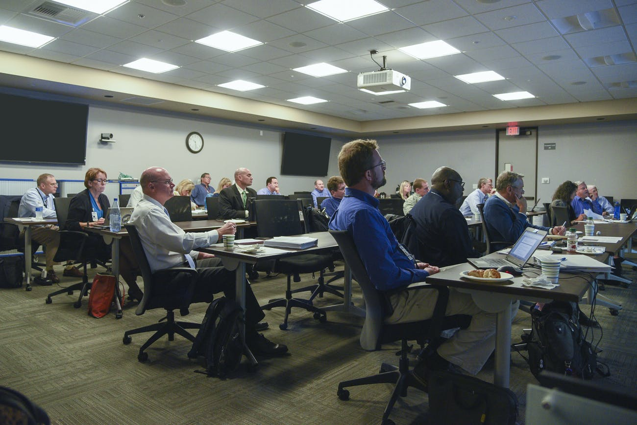 Several agencies gathered together in El Segundo, California on October 25 for a tabletop exercise simulating a potential asteroid impact in 2020.
