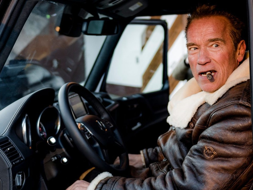 Arnold Schwarzenegger Has a Massive All-Electric Off-Road Mercedes
