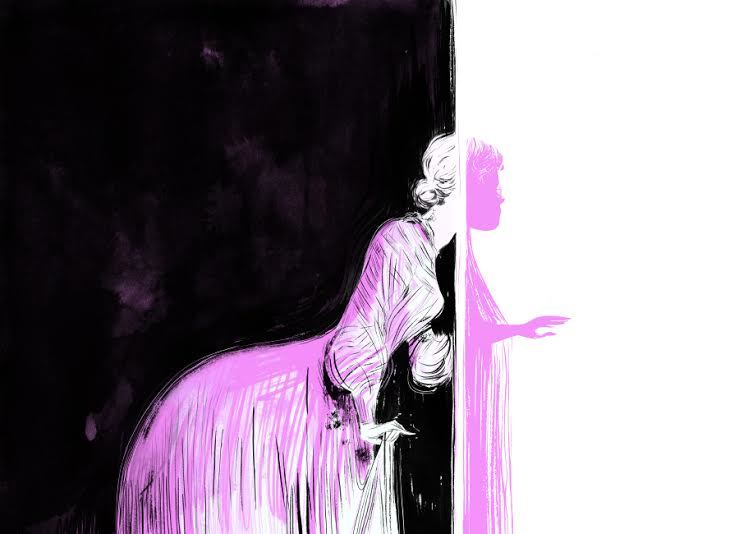 An illustration from the New York Times Sunday Book Review from June 2014.