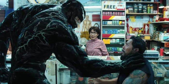 The symbiotes get a TOTALLY new origin story in 'Venom'.