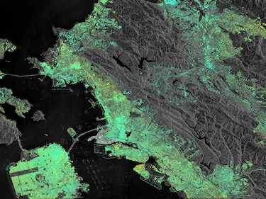These Satellite Images Show Parts of San Francisco Are Sinking