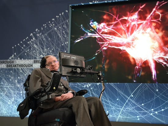 """Stephen Hawking Says He's Not a Cultural Icon Till He's """"Been on 'The Kardashians'"""""""