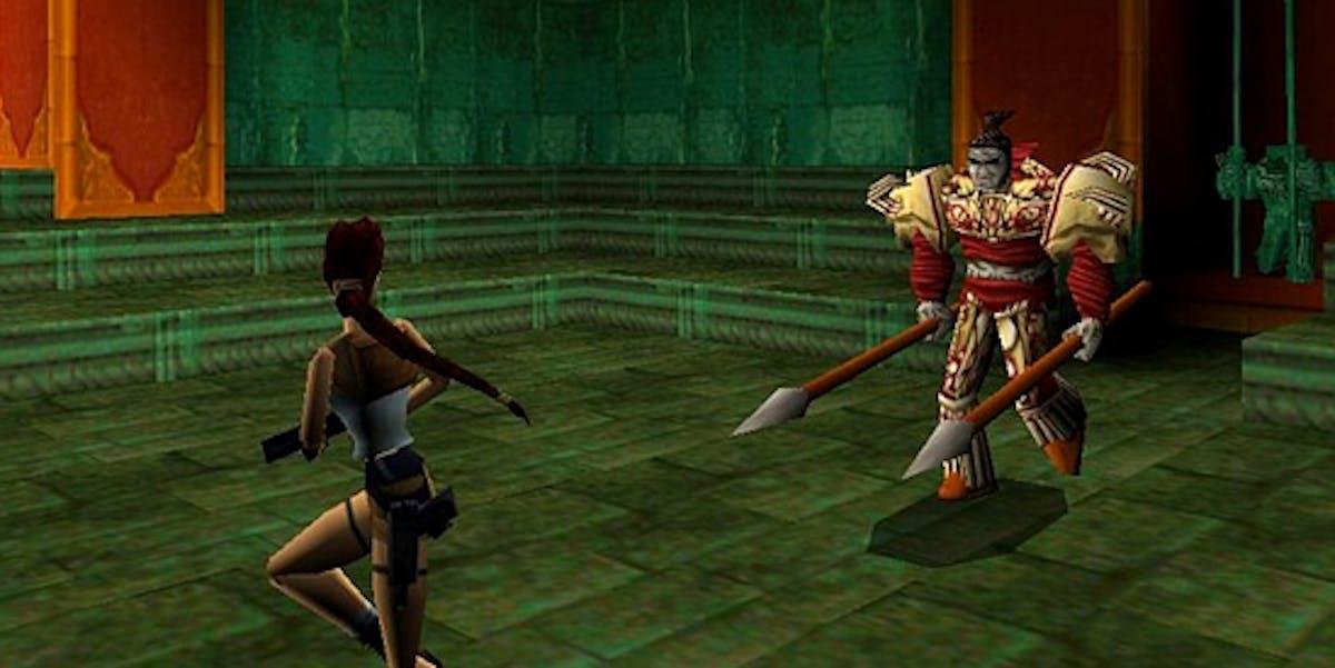 'Tomb Raider II'