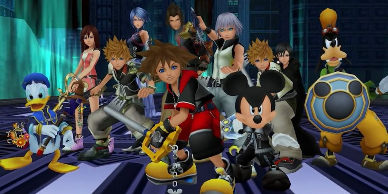 Every hero ever from 'Kingdom Hearts' might bewilder fans.