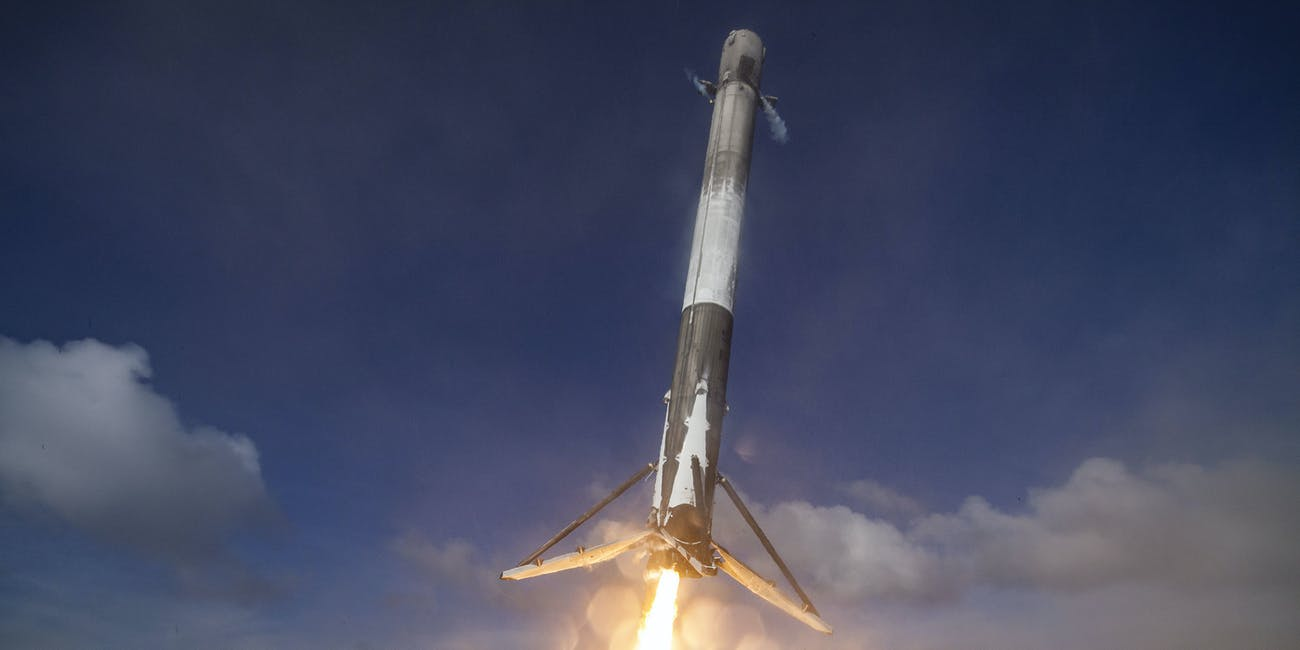 spacex falcon 9 landing