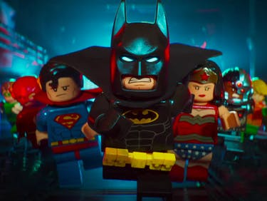 The Lego Batman Movie from DC and Warner Bros.