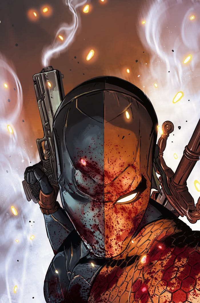 Cover of 'Deathstroke: Rebirth' #1