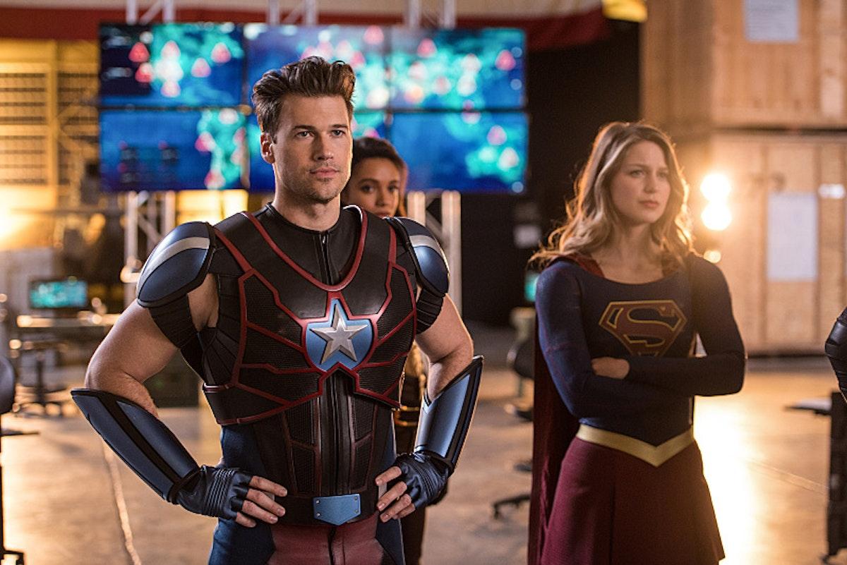 Steel Legends of Tomorrow Supergirl