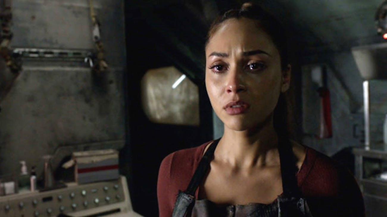 Raven Reyes in 'The 100' Season 4
