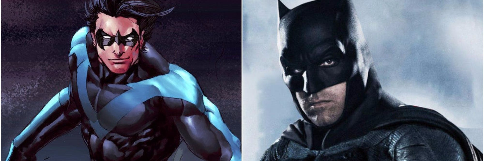 Will Nightwing replace Ben Affleck's Batman in the DCEU?