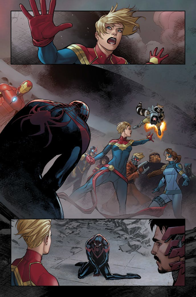 Civil War #6 Preview